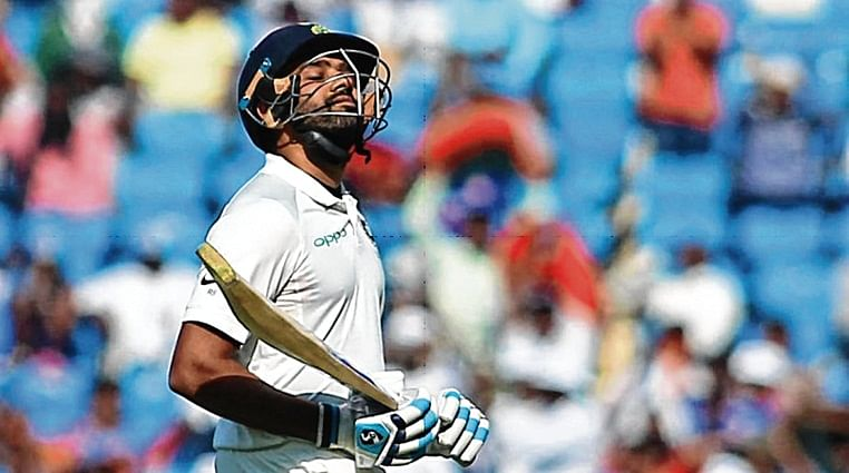 Rohit Sharma's trial by fire in Test match against South Africa