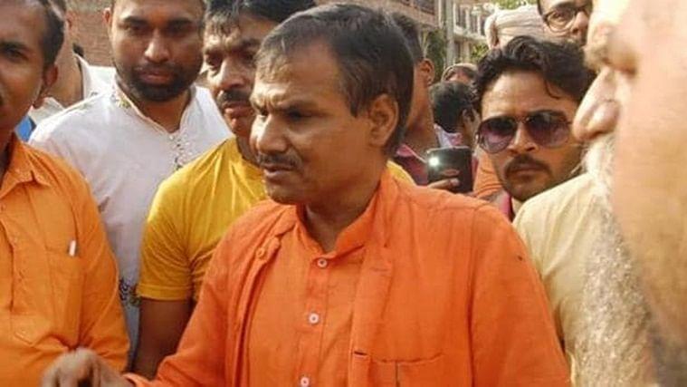 Hindu Samaj Party chief Kamlesh Tiwari.