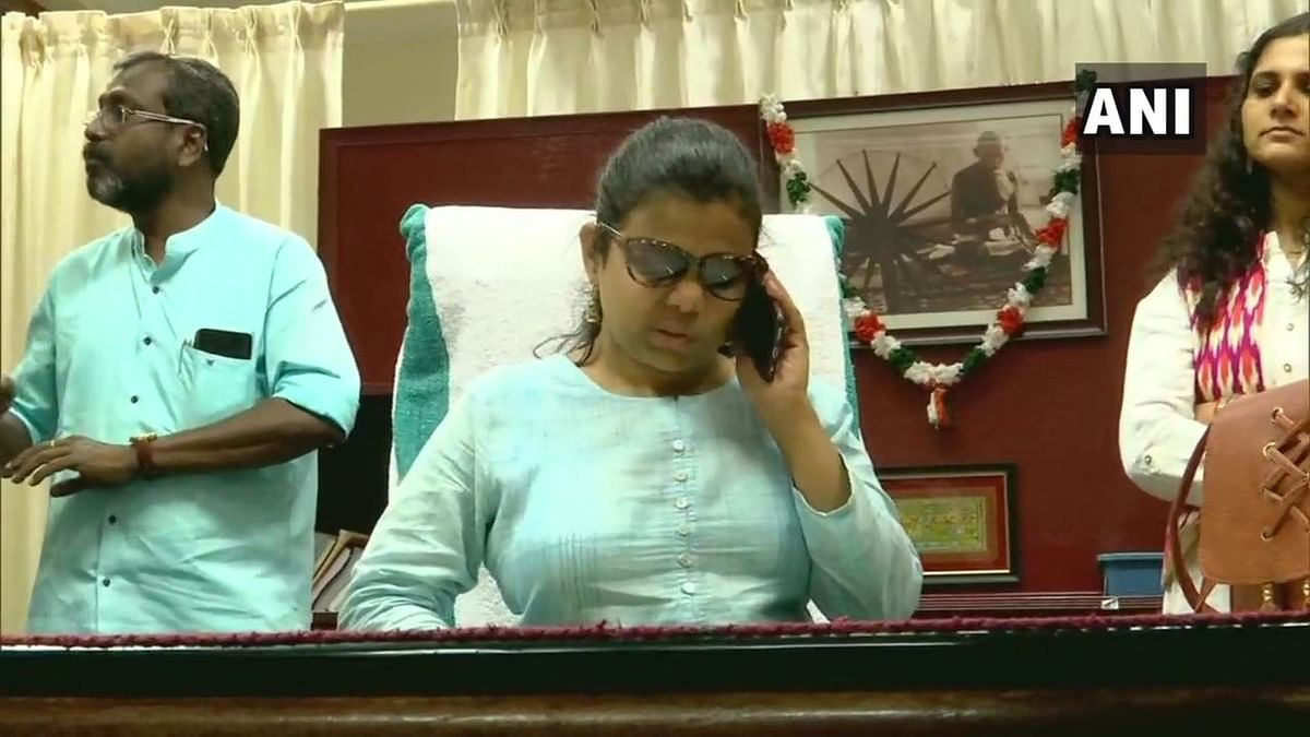Never give up, says first visually challenged woman IAS officer