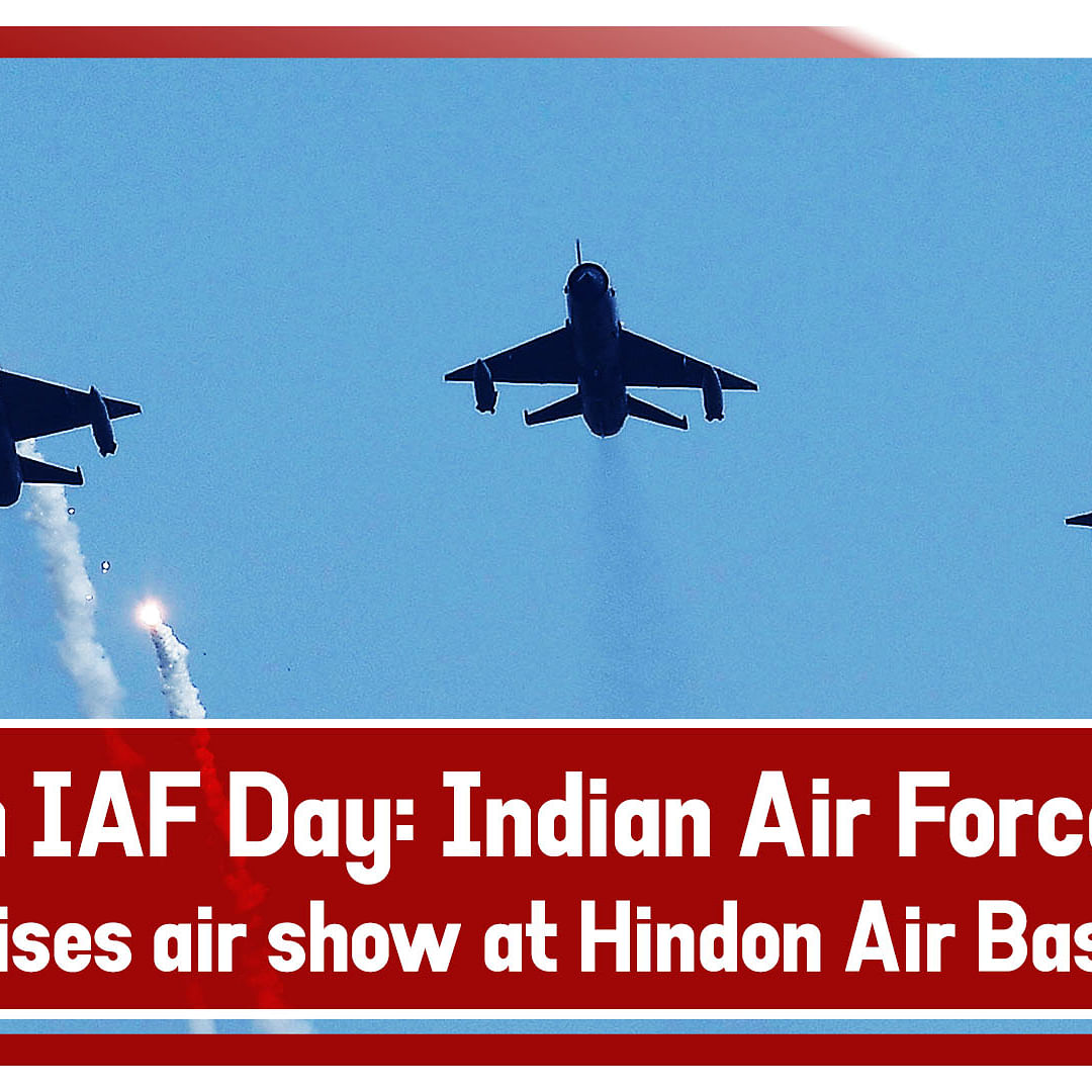 87th IAF Day: Indian Air Force organises air show at Hindon Air Base
