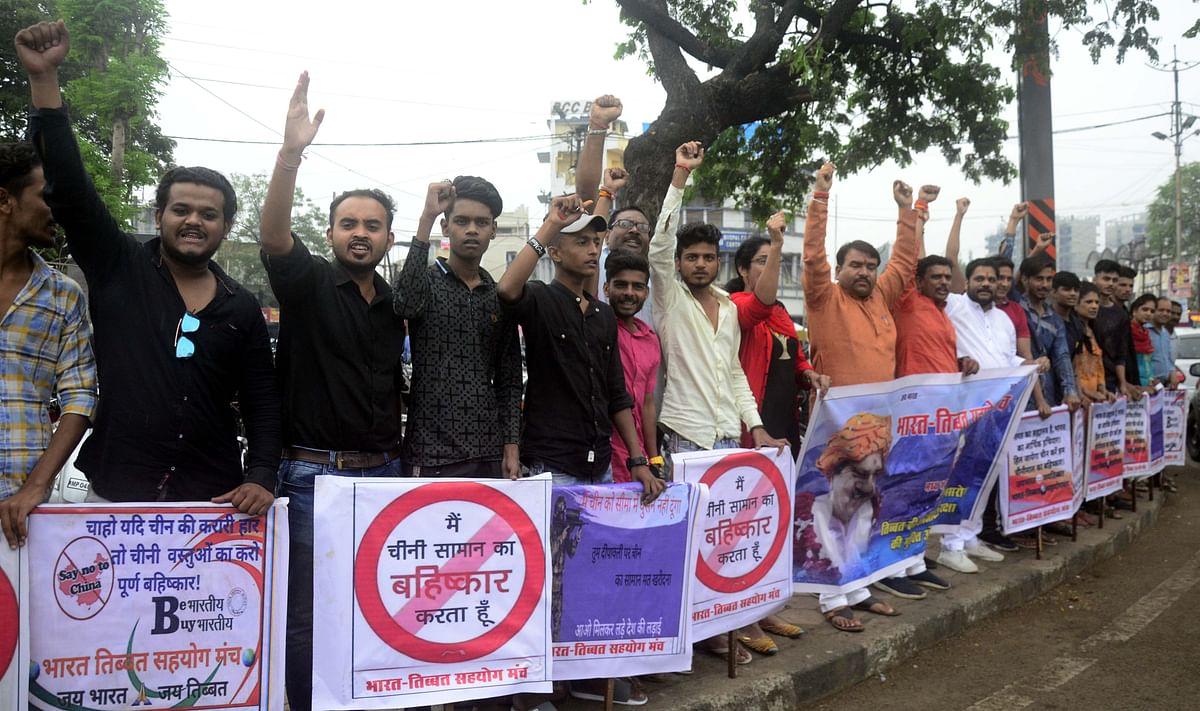 "Bhopal: 'Boycott of China-made items befits Indo-China war anniv"""