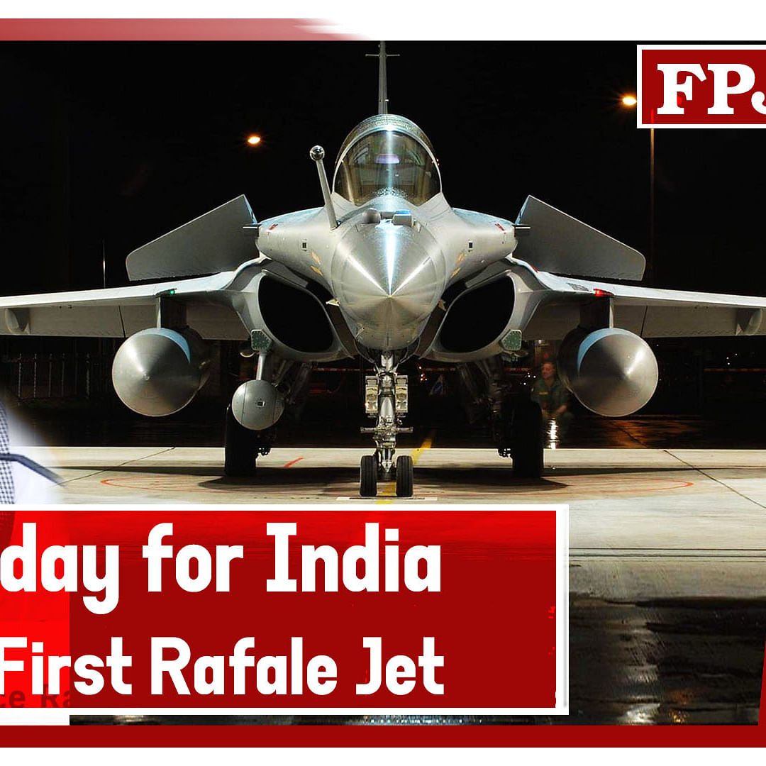 Rajnath Singh Calls It 'Historic' Day For India, Set To Get First Rafale Jet