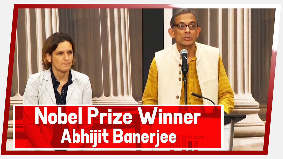 It Is A Prize For The Entire Movement, Nobel Prize Winner Abhijit Banerjee