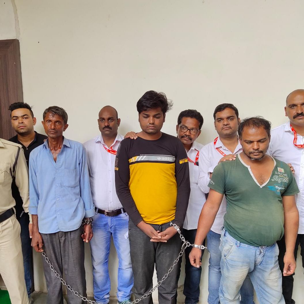 Indore: 3 arrested with brown sugar