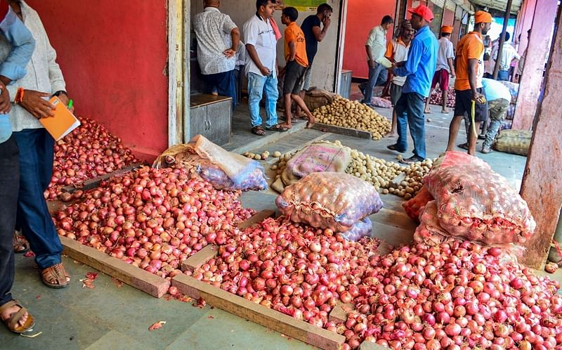 2,500 tonnes of onion imported