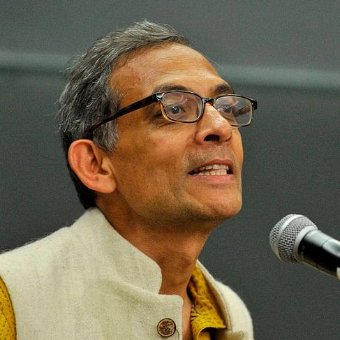 'We're happy, but it's nothing to be dancing about', says the Noble Laureate Abhijit Banerjee's mother