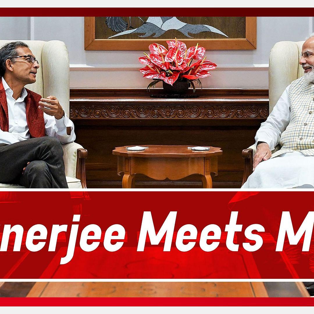 Nobel Laureate Abhijit Banerjee Meets PM Modi