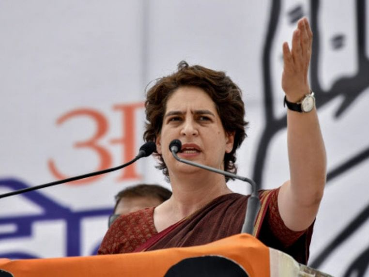 Congress general secretary Priyanka Gandhi
