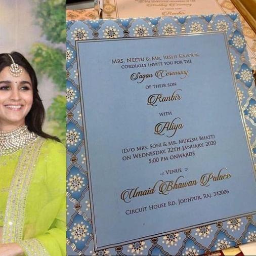 Real or Fake: Ranbir-Alia's wedding card goes viral on social media, latter reacts
