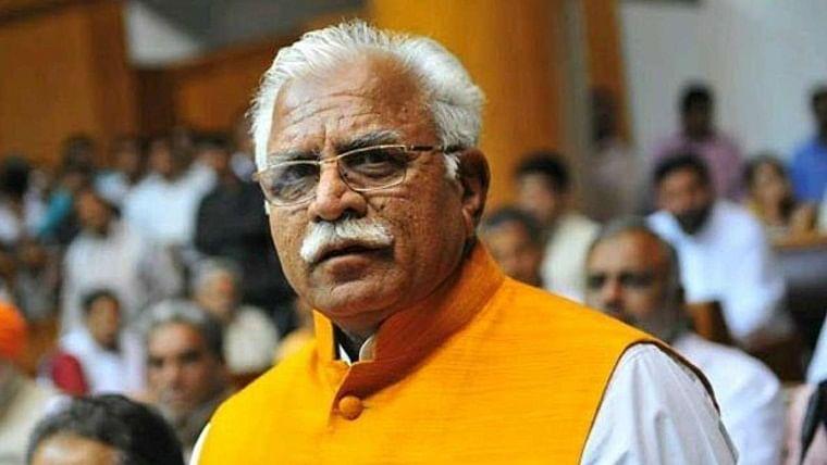 'Wahi Dhaak Ke Teen Pat': Manohar Lal Khattar hits out at Congress again for making Sonia Gandhi as party chief