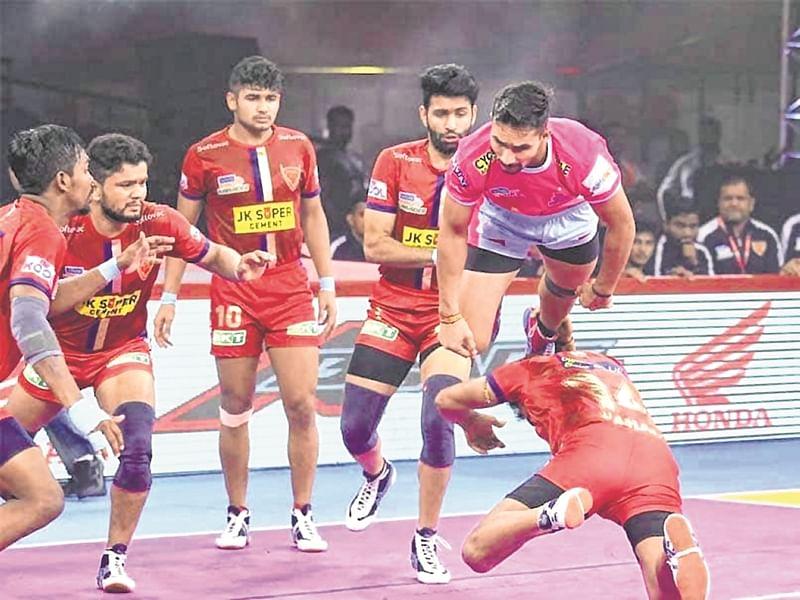 Pro Kabaddi League enters last lap; six teams in fray