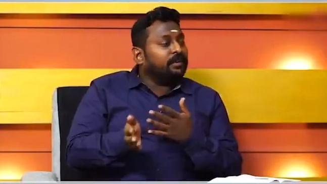 Tamil Nadu BJP spokesperson SG Suryah