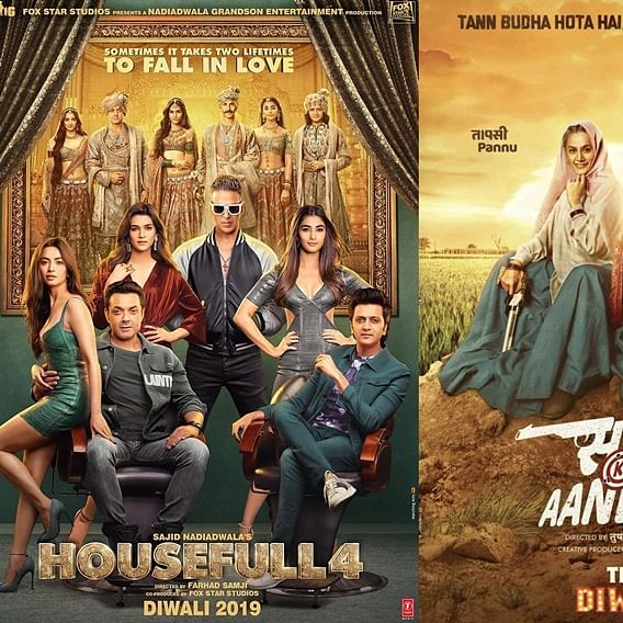 'Housefull 4' to 'Saand Ki Aankh': Bollywood movies to watch this Diwali