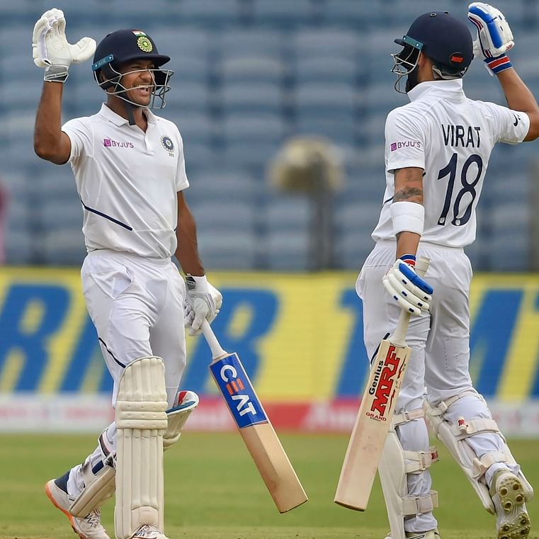 The Indian opener frustrates the lethal South African attack with gritty ton to put India on top