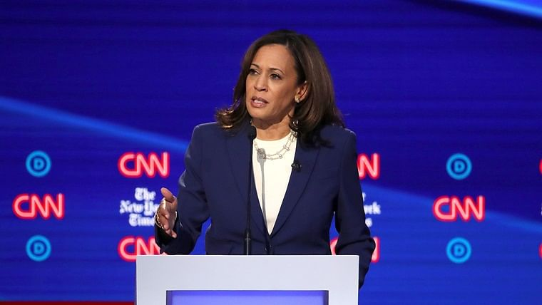 It is her body, her decision: Kamala Harris accuses Democratic presidential candidates of ignoring abortion rights