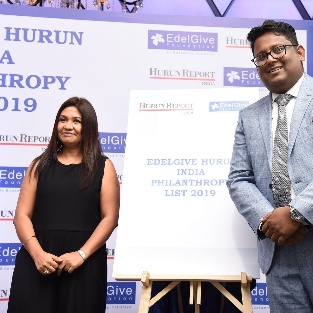 Shiv Nadar, Azim Premji and Mukesh Ambani are the top three of EdelGive Hurun India Philanthropy list 2019