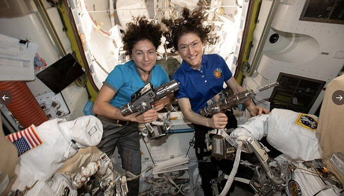 Giant leap for womenkind: NASA executes first All-Women Spacewalk