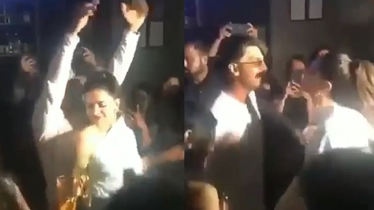 Watch Ranveer, Deepika drop it like it's hot at '83' wrap-up party