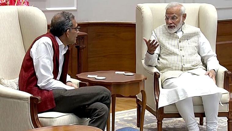 Laureate Abhijit Banerjee met PM Modi today