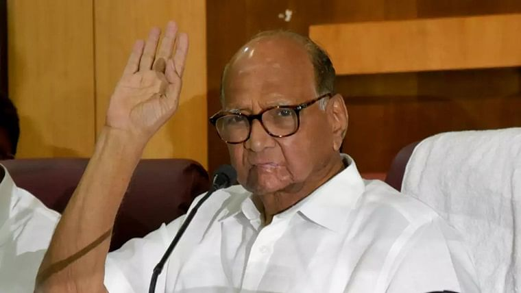 Wear bangles if you can't work: Sharad Pawar