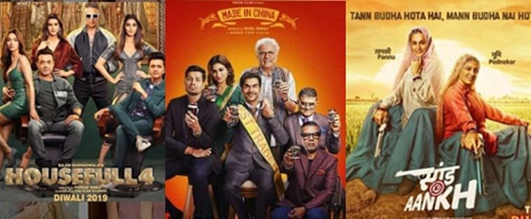 'Housefull 4' crosses 50 Cr mark, 'Made in China', 'Saand Ki Aankh' far behind