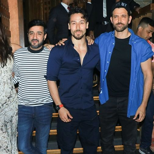 Hrithik Roshan, Tiger Shroff celebrate 'War' success with grand bash