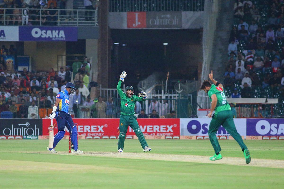 Cricket Score - Pakistan vs Sri Lanka:Sri Lanka won by 35 runs
