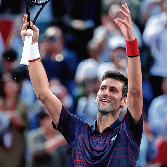 Novak Djokovic shines in Land of Rising Sun