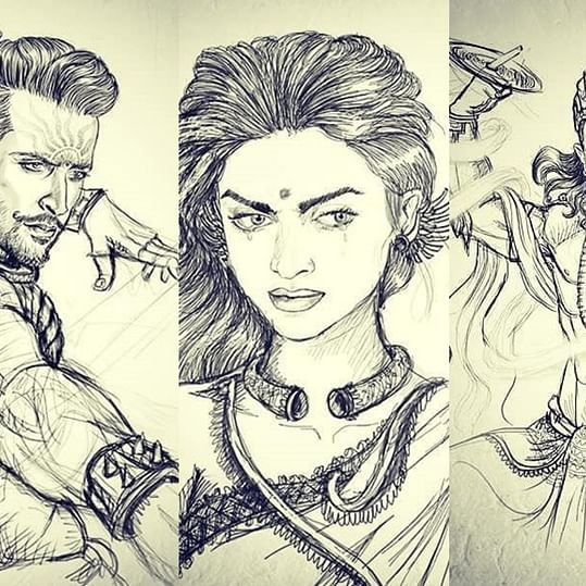 Deepika as Draupadi, Aamir as Krishna, Hrithik as Karna: Is this the complete cast of 'Mahabharat'?