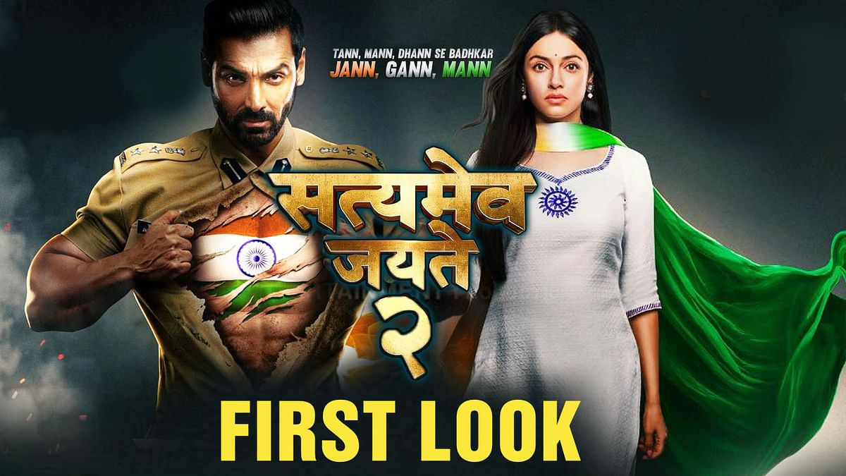 Satyameva Jayate 2' First Look Poster Out: John Abraham Promises A Bigger Sequel