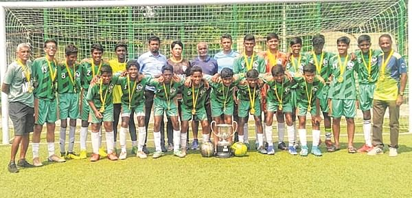 Hat-trick of titles for Don Bosco boys