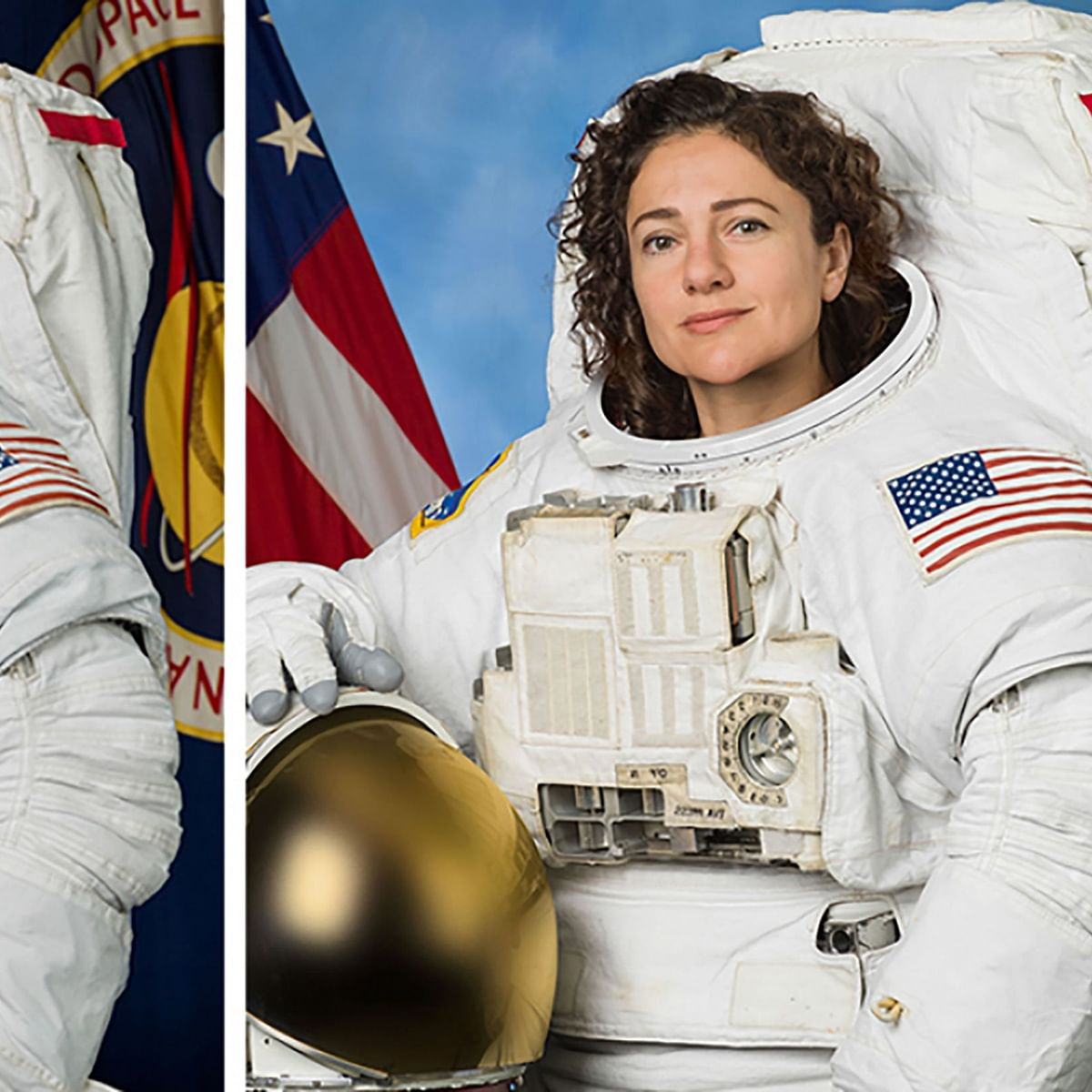 In first, spacewalk by two astronauts women