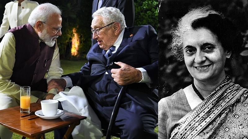 When Indira Gandhi showed Henry Kissinger and Richard Nixon their place