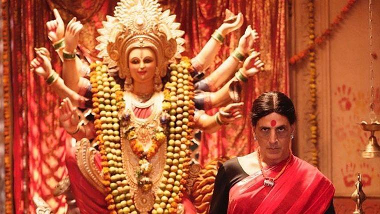 Laxmmi Bomb: Akshay Kumar reveals his saree-clad avatar on the occasion of Navratri