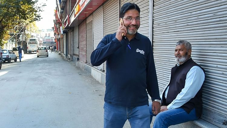 Mobile phone services on postpaid connections were restored in Kashmir after remaining suspended for 70 days following abrogation of Article 370 and bifurcation of Jammu and Kashmir.