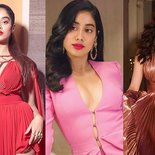 5 Times Janhvi Kapoor went high-risqué with plunging necklines