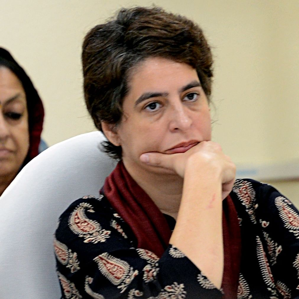 Priyanka Gandhi wonders why there's no action against BJP MLA Swati Singh for threatening police officer