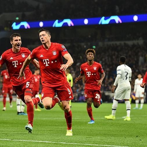Bayern Munich humiliates Tottenham by 7-2 in Champions League