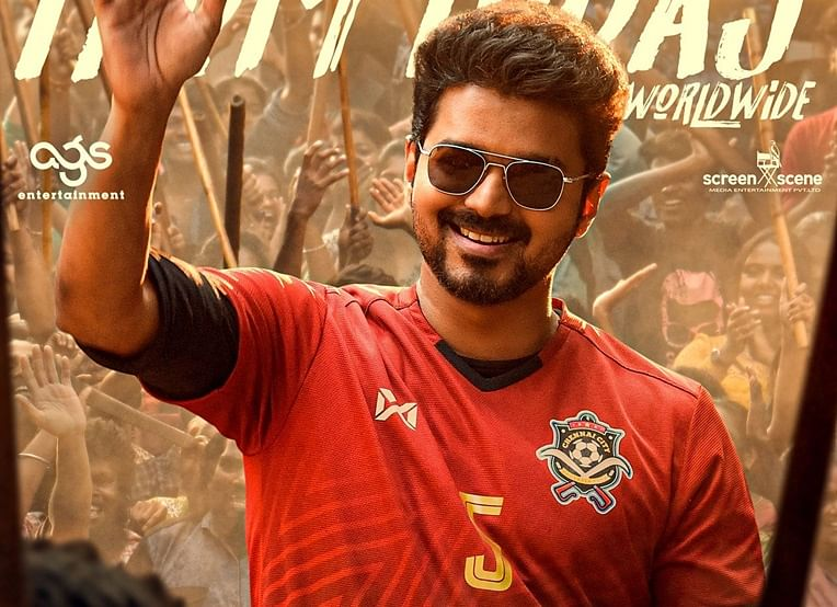 'Bigil' movie review: Fans in awe for Vijay as he shines in entertaining sports drama