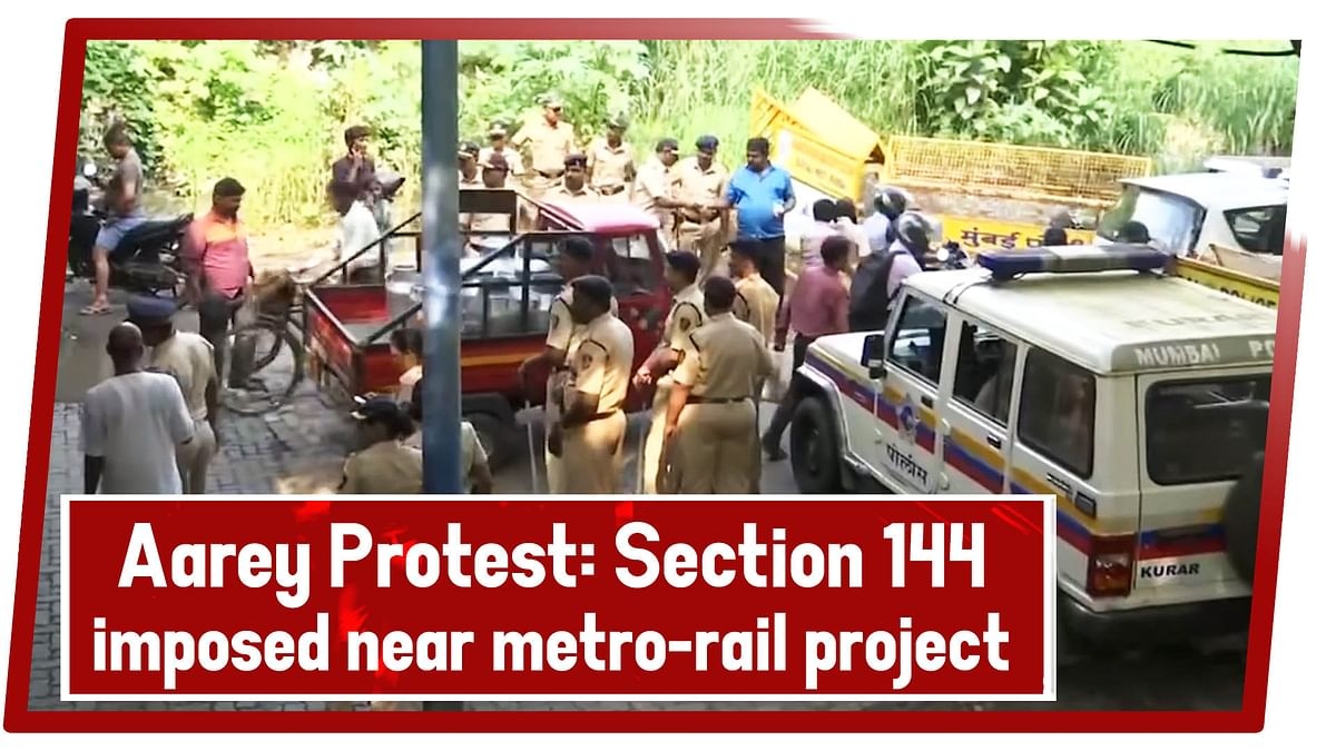Aarey Protest Live Updates: Section 144 Imposed Near Metro-Rail Project Site In Aarey Forest