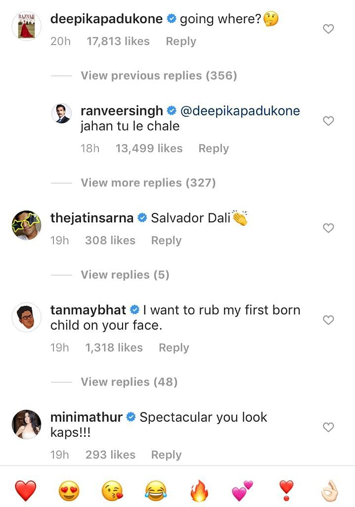 Deepika is curious to know where Ranveer is going after seeing his recent post