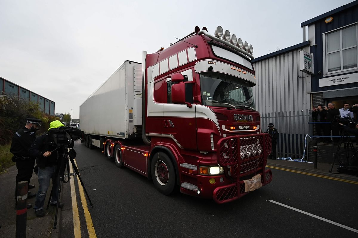 Essex lorry deaths: All 39 victims were Chinese