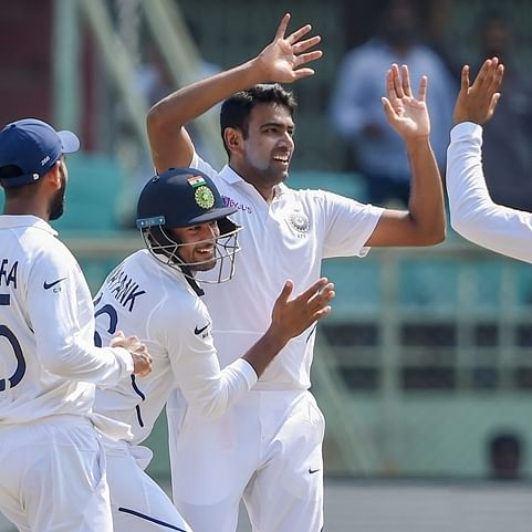 Fastest 350 wickets, on a par with Muttiah Muralitharan