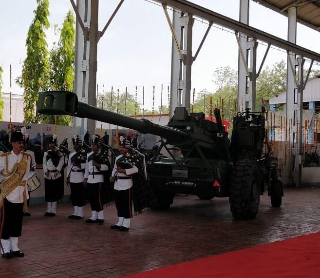 The indigenous Dhanush howitzer