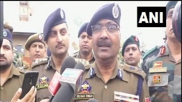 J-K DGP Dilbagh Singh congratulates security forces for arresting LeT terrorist