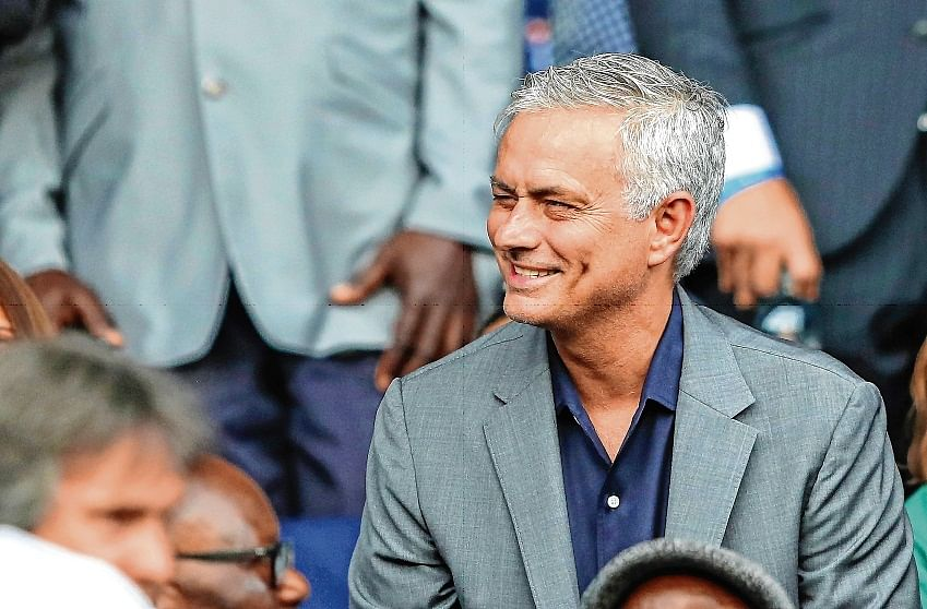 Beast is back: Jose Mourinho spurs ahead