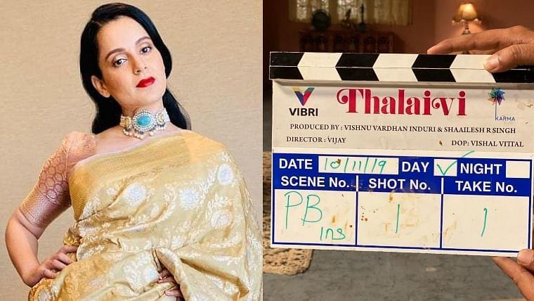 Finding it difficult to learn Tamil, will mug up dialogues: Kangana on Jayalalitha biopic 'Thalaivi'