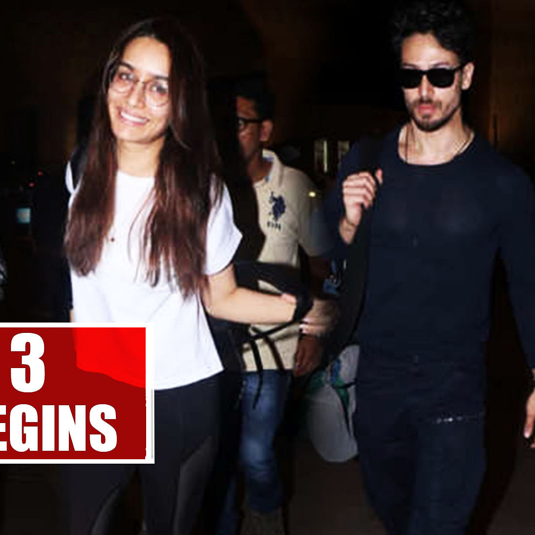 Baaghi 3 Shooting Begins: Tiger Shroff And Shraddha Kapoor Leave For Mumbai Airport