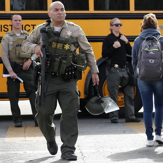 2 killed after teenager opens fire at his classmates in California high school