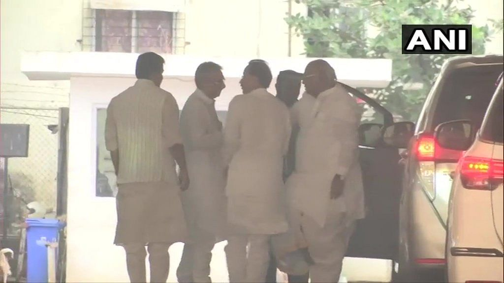 Maha government formation updates:   Cong-Sena-NCP leaders arrive for joint meet